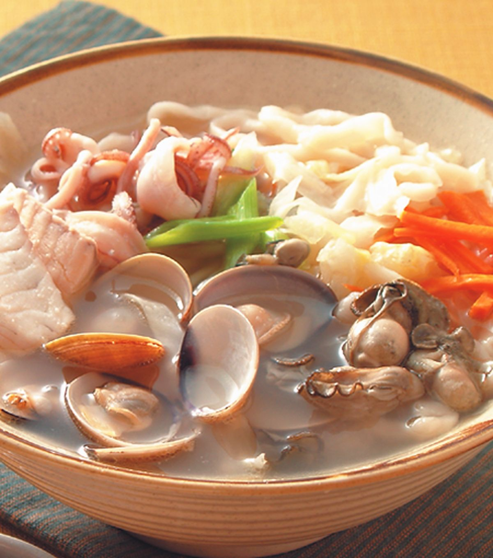 食譜:台式海鮮湯麵