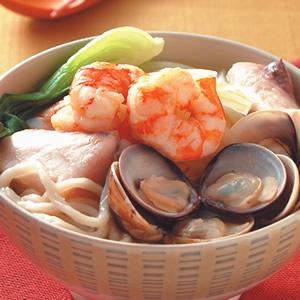 咖哩海鮮麵(1)