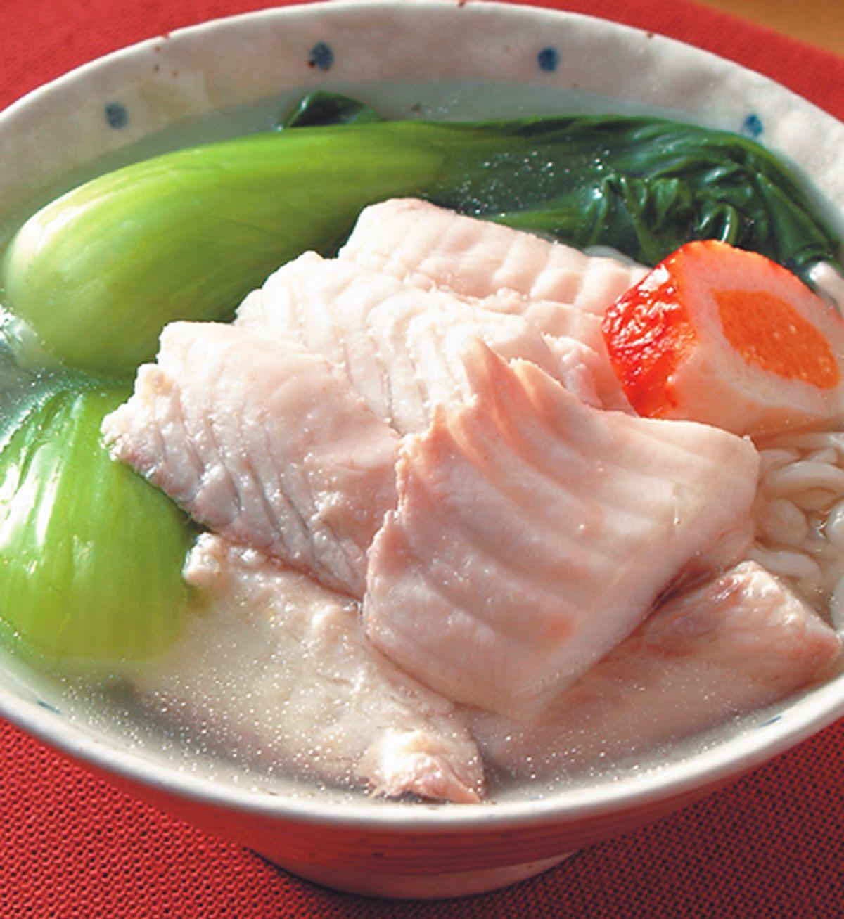 食譜:魚湯麵