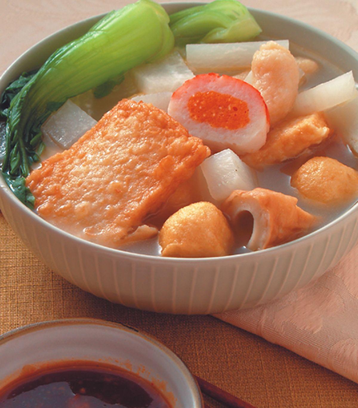 食譜:天婦羅海鮮湯麵