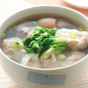 豬腳餛飩湯