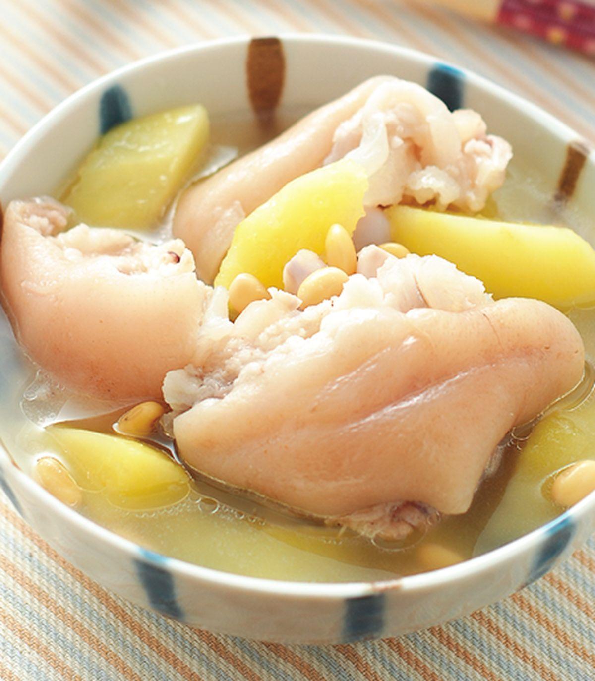 食譜:青木瓜燉豬腳