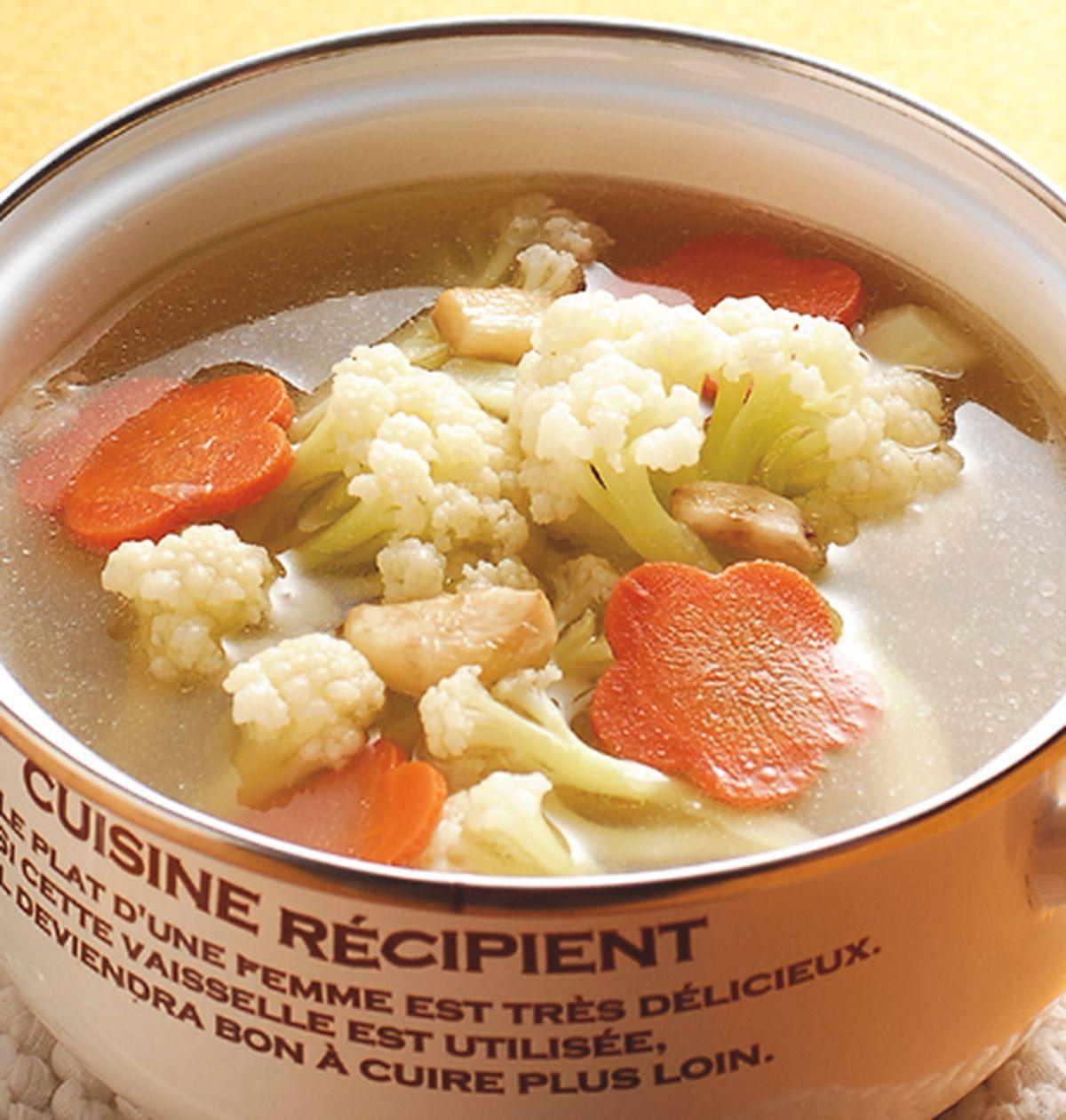 食譜:蒜香花椰菜湯