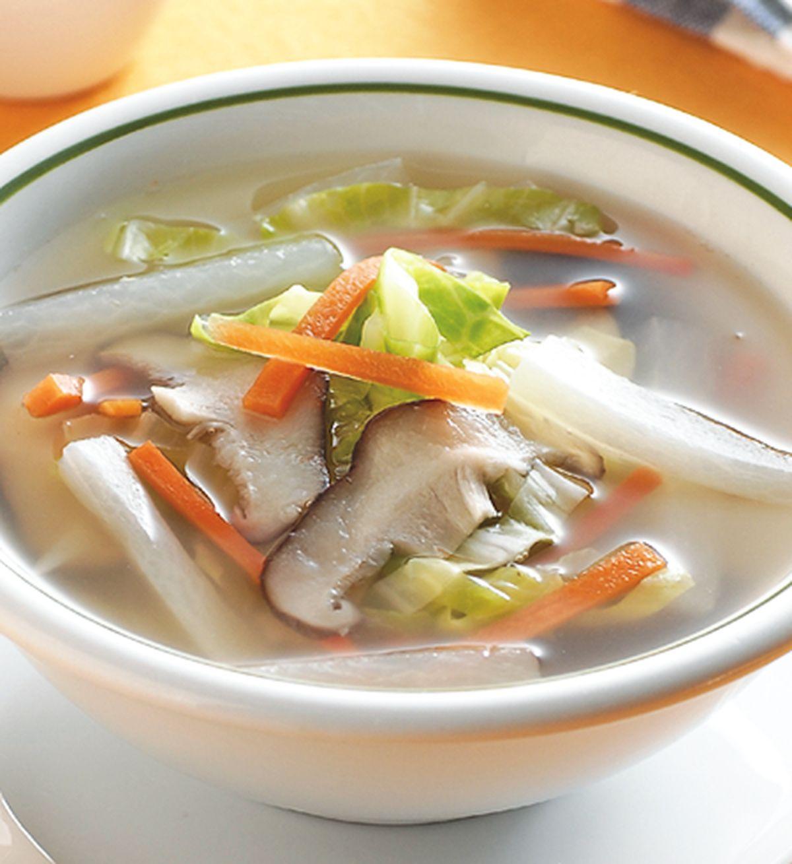 食譜:爽口高麗菜湯