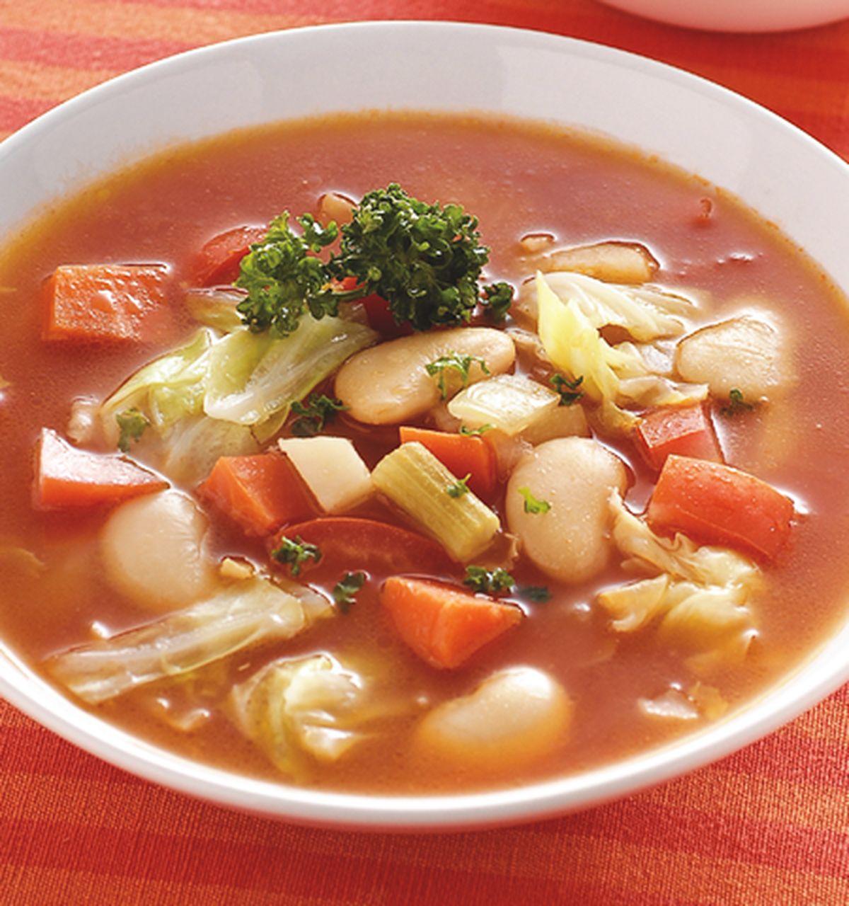 食譜:時蔬大豆湯