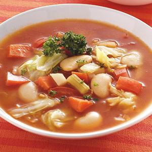 時蔬大豆湯