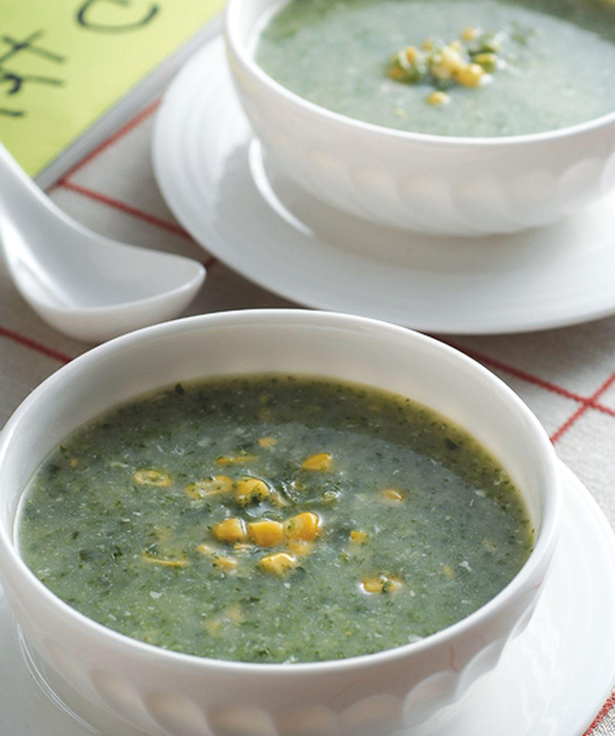 食譜:玉米翠綠濃湯