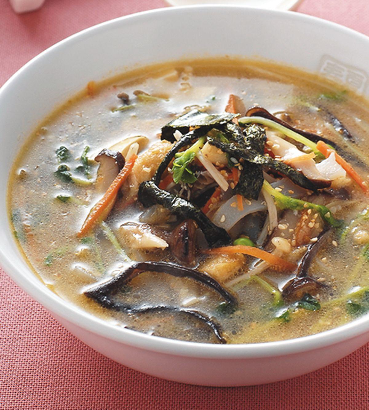 食譜:什錦蔬菜味增湯