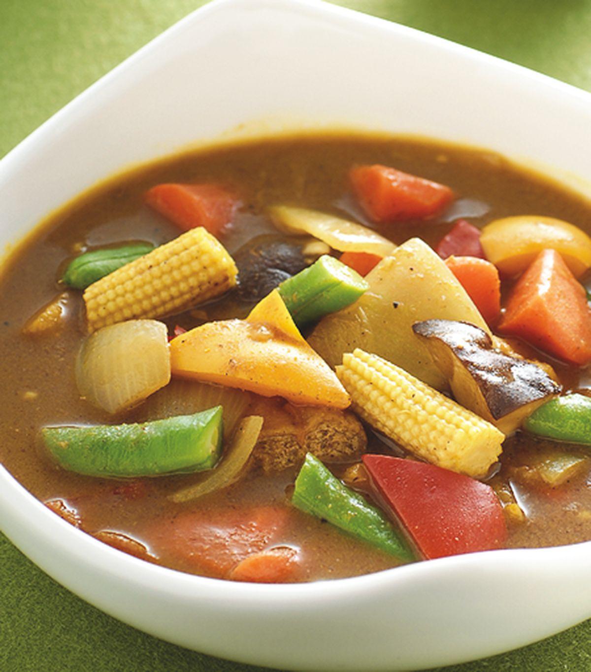 食譜:咖哩蔬菜湯(1)