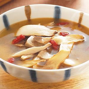 麻油杏鮑菇湯