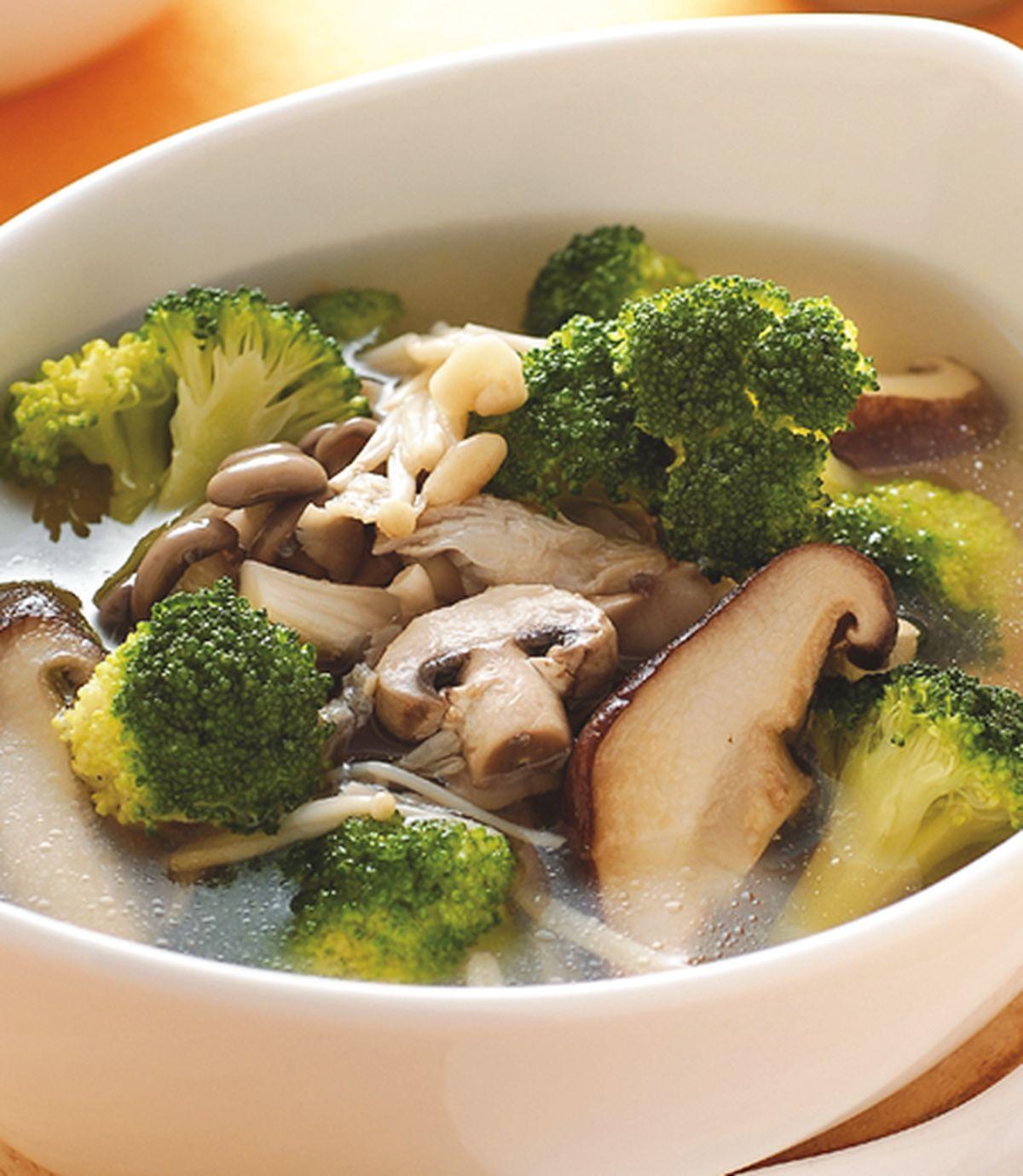 食譜:鮮菇湯