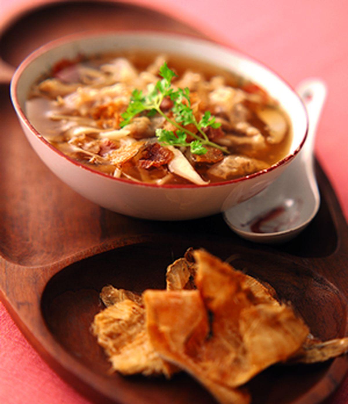 食譜:扁魚肉羹(1)