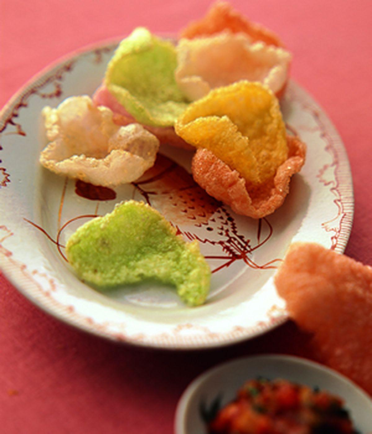 食譜:墨西哥醬vs.蝦片