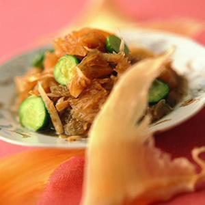 魚翅涼拌燒