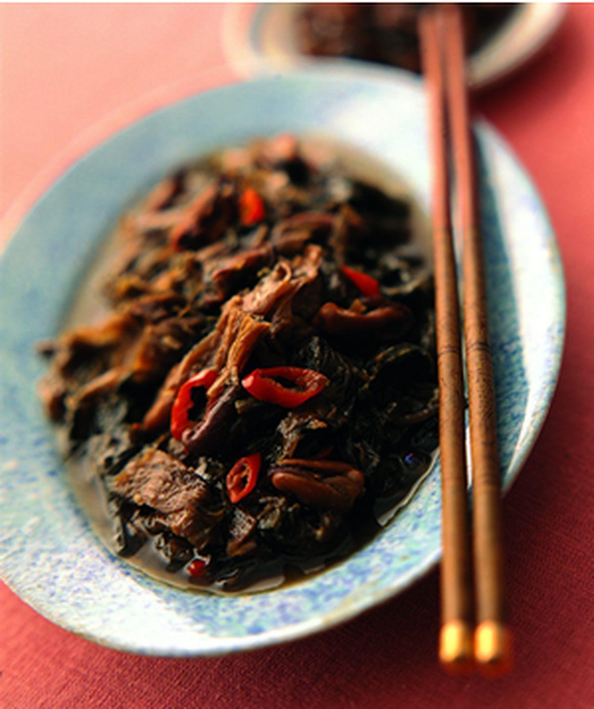 食譜:梅乾燜淡菜