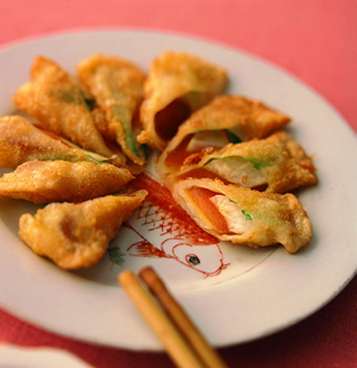 食譜:金黃烏魚子卷