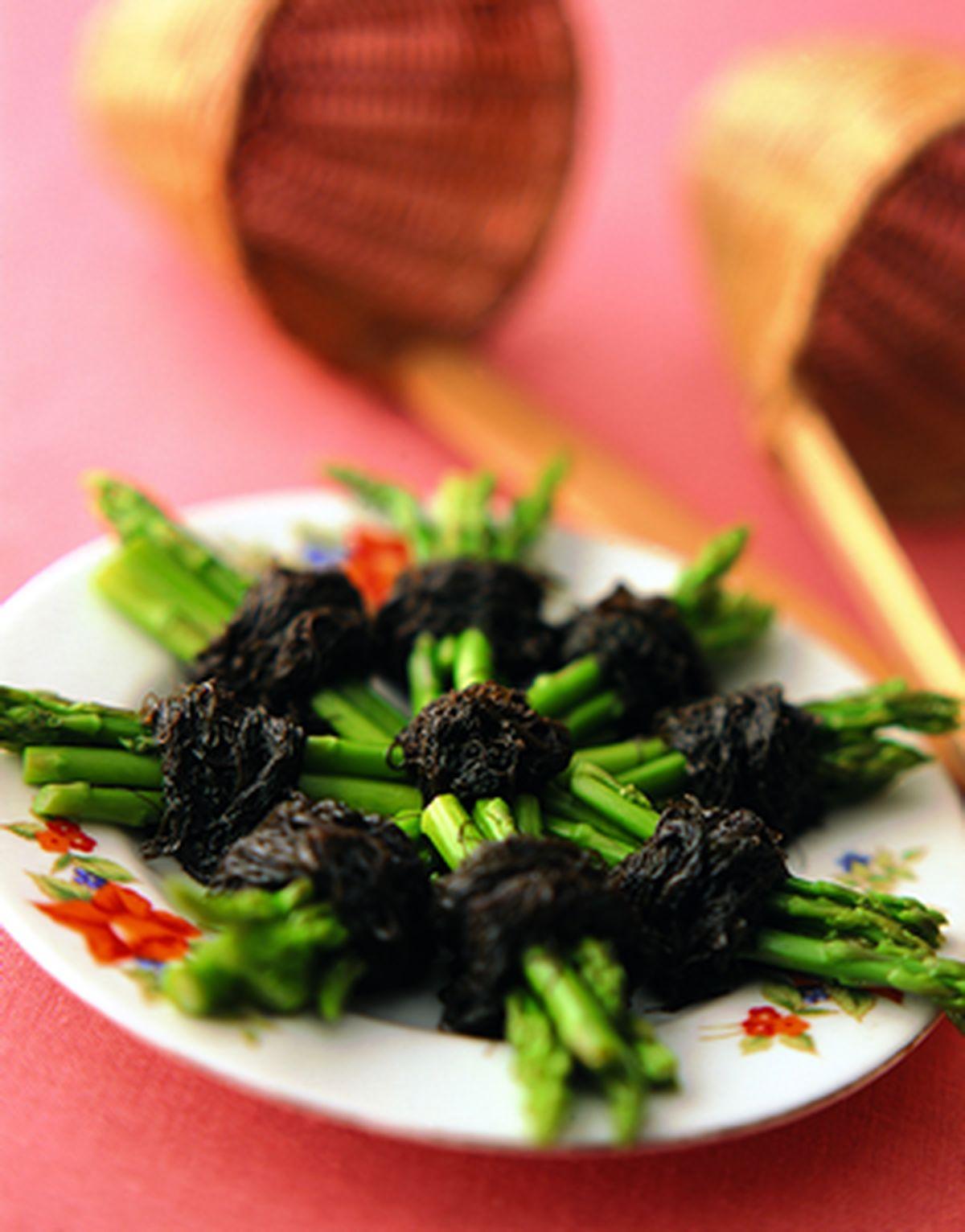 食譜:髮菜蘆筍