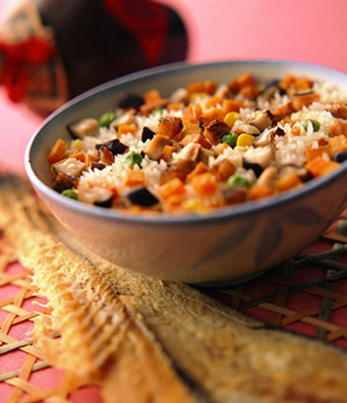 食譜:鹹魚原鍋飯