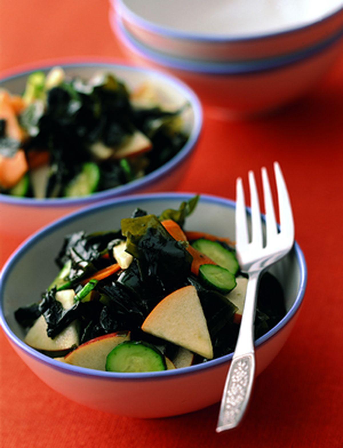 食譜:涼拌海藻沙拉