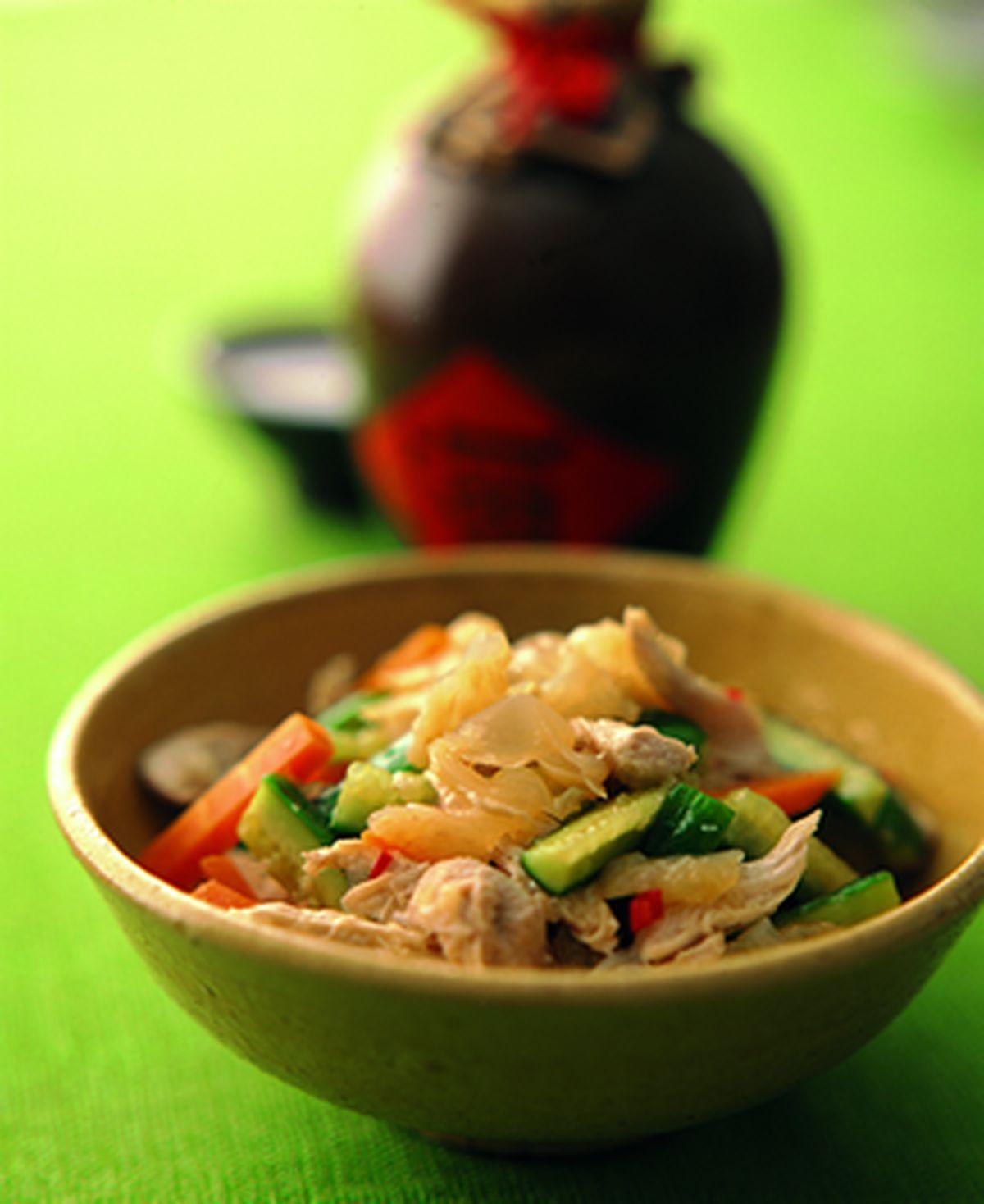 食譜:涼拌海蜇皮(1)