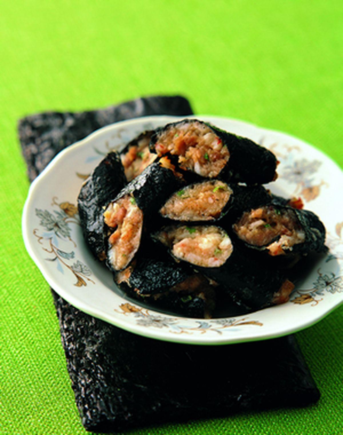 食譜:海苔蝦卷