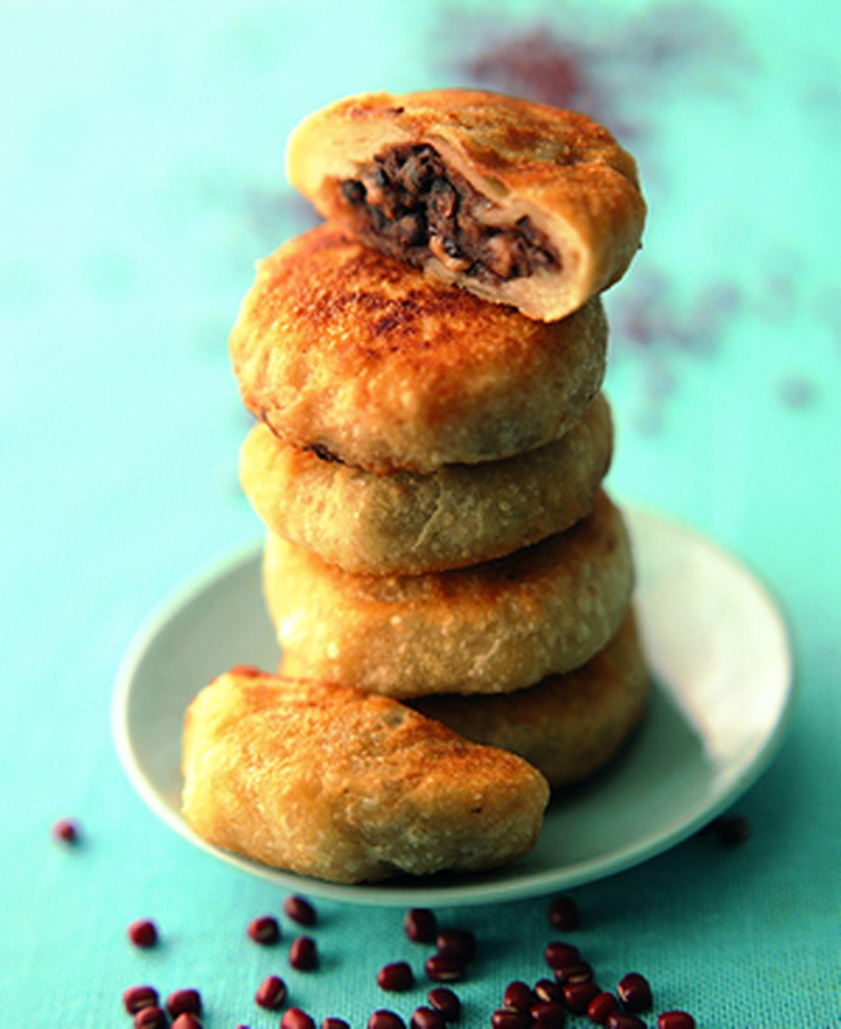 食譜:紅豆餡餅