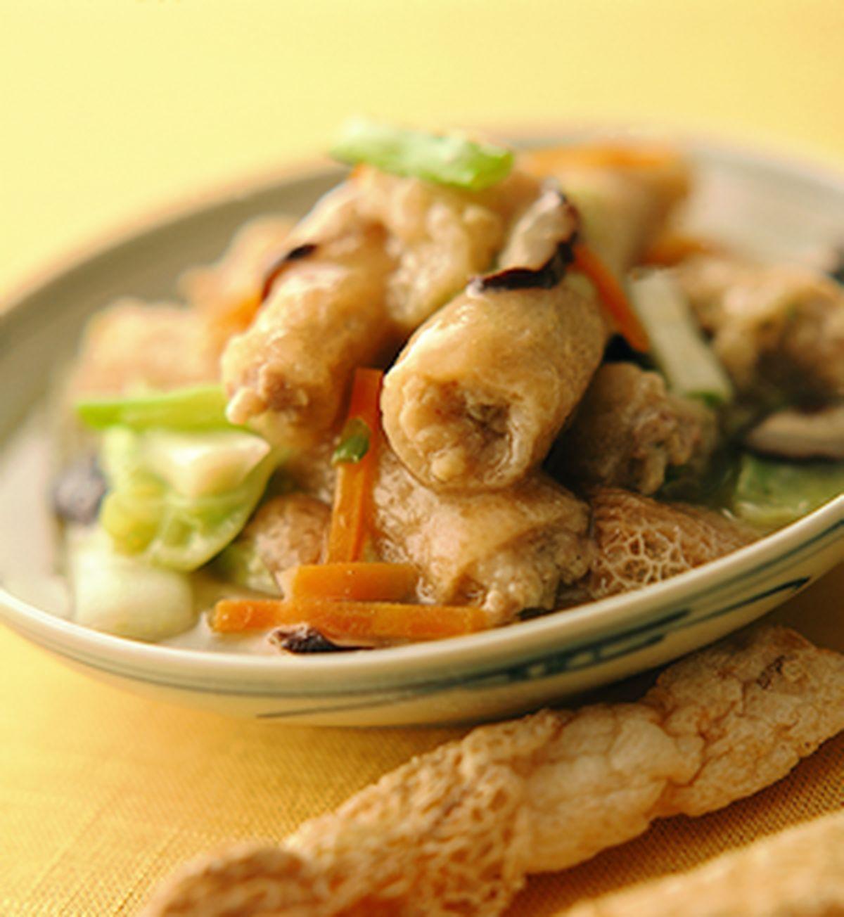 食譜:竹笙鑲肉