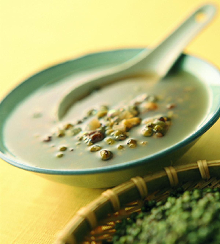 食譜:乾果綠豆湯