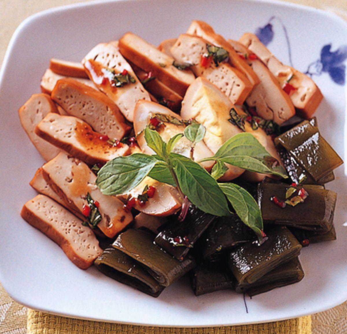 食譜:香滷海帶豆乾
