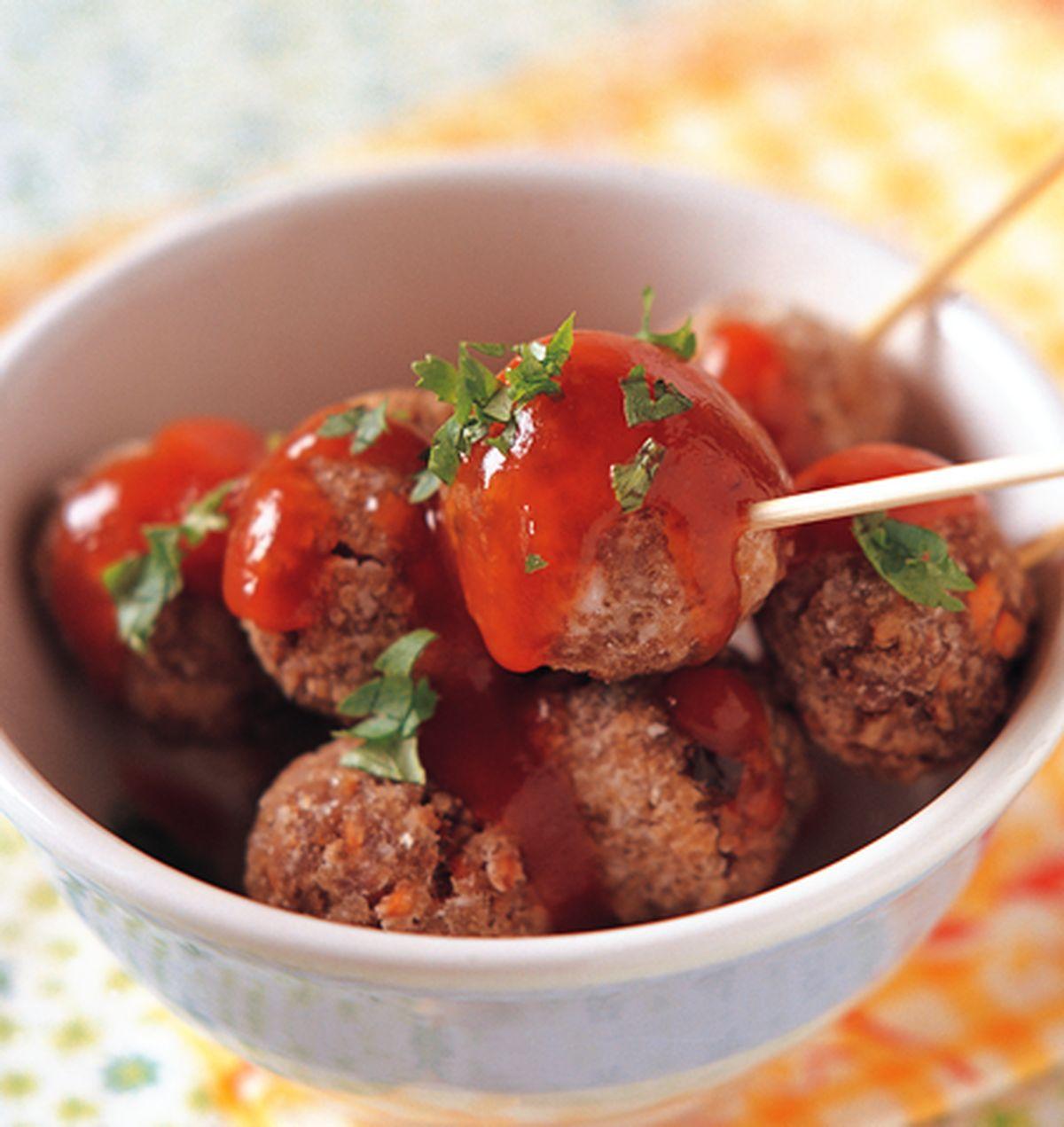 食譜:茄汁牛肉丸