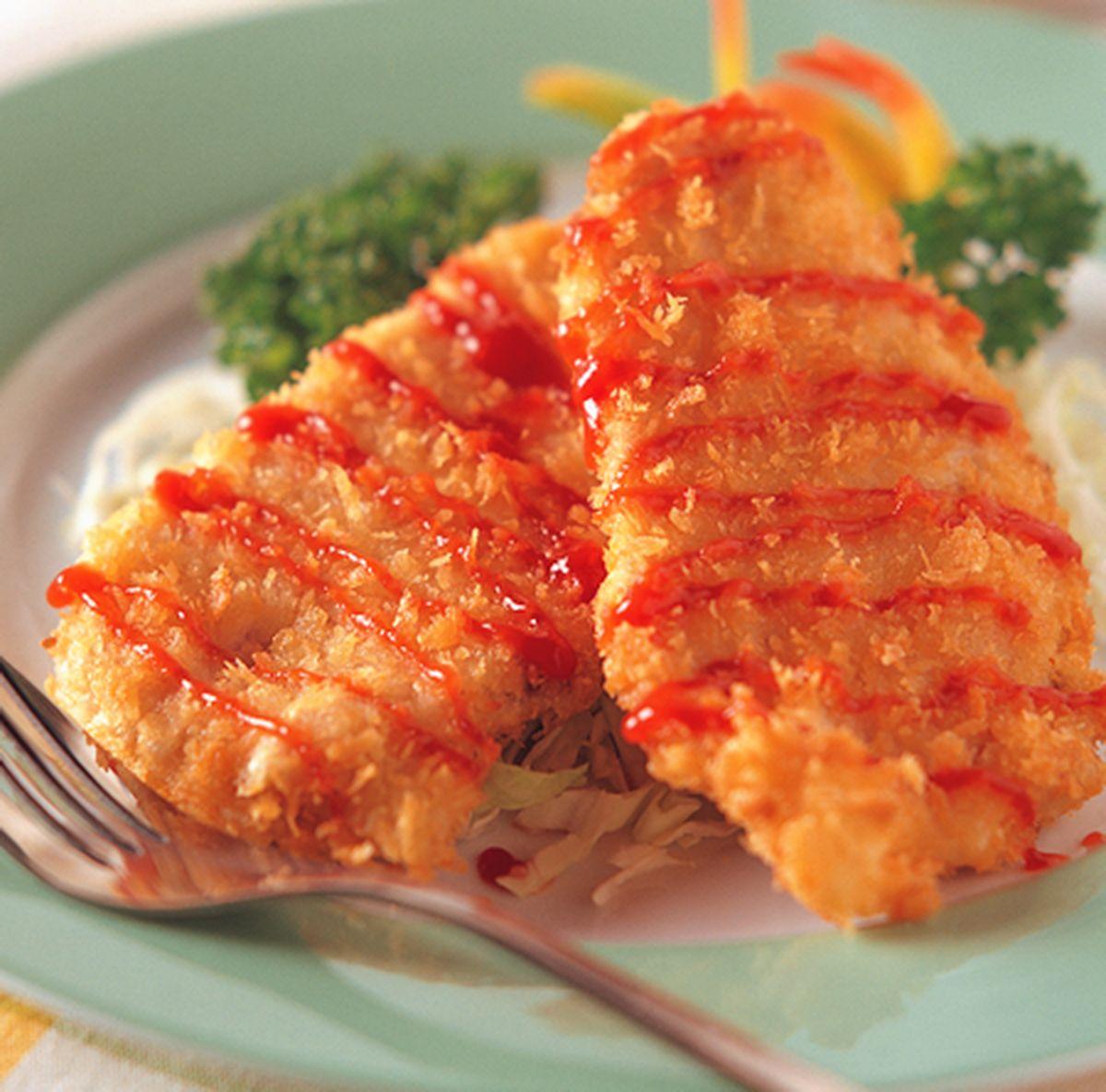 食譜:日式炸豬排(1)
