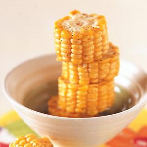 油炸甜玉米