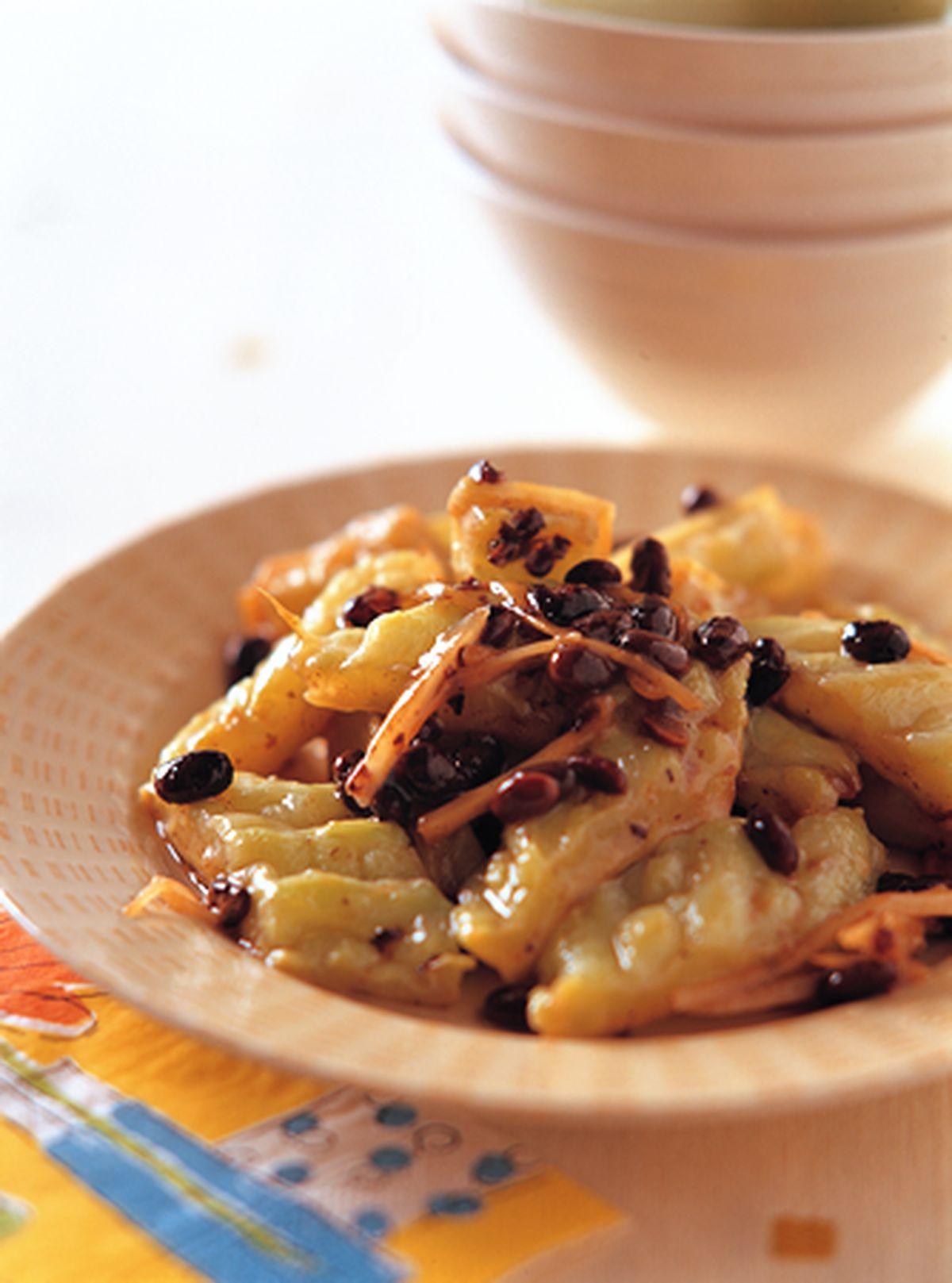 食譜:豆豉苦瓜(1)