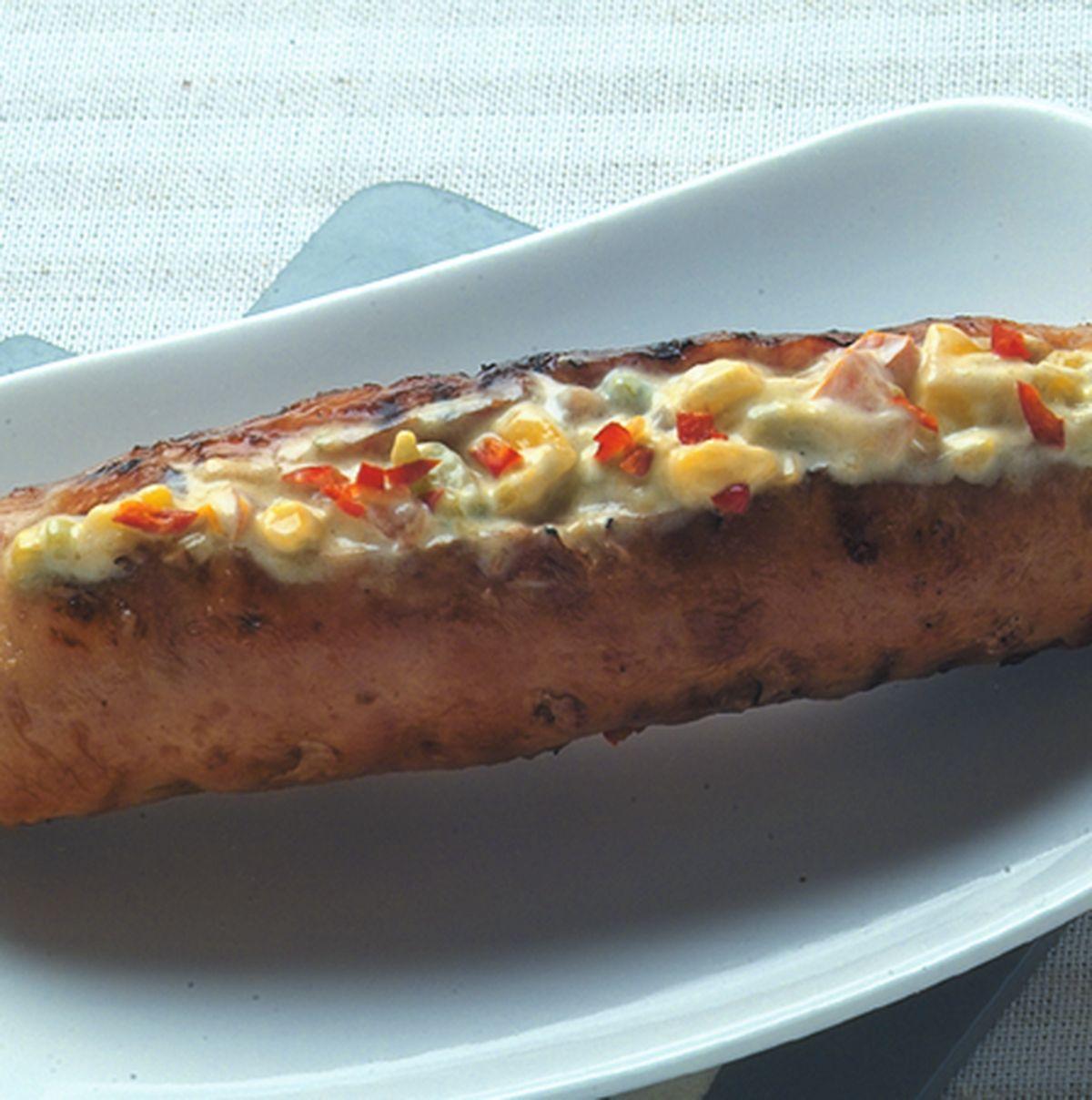 食譜:蕃茄酪醬香腸