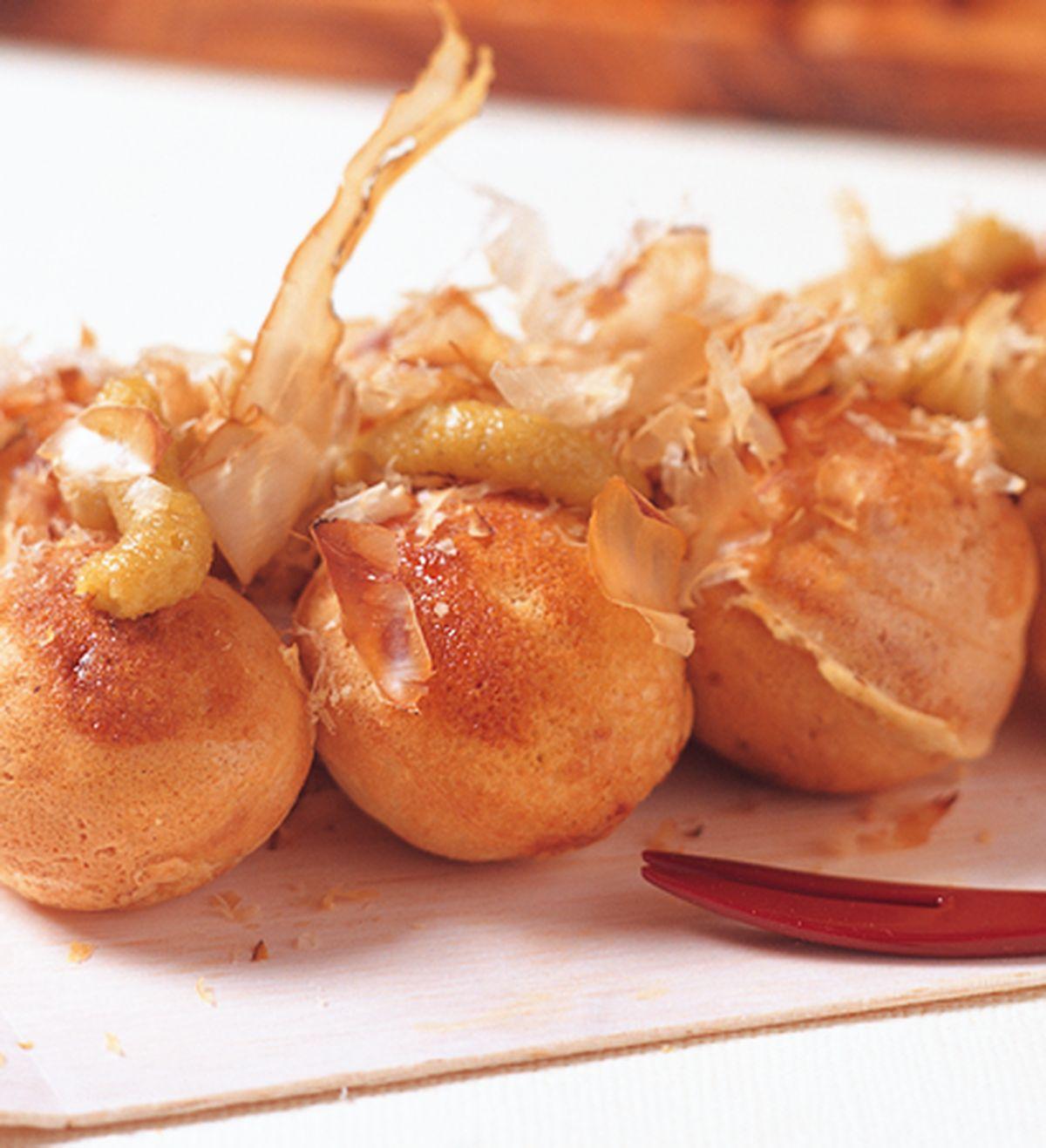食譜:哇沙米章魚燒