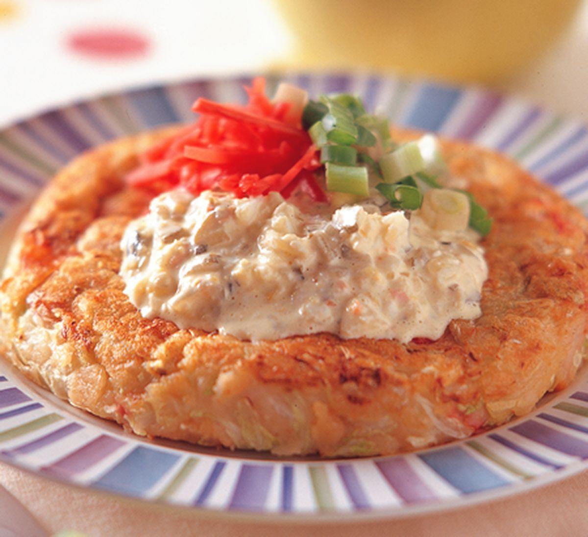 食譜:海鮮歡喜煎餅