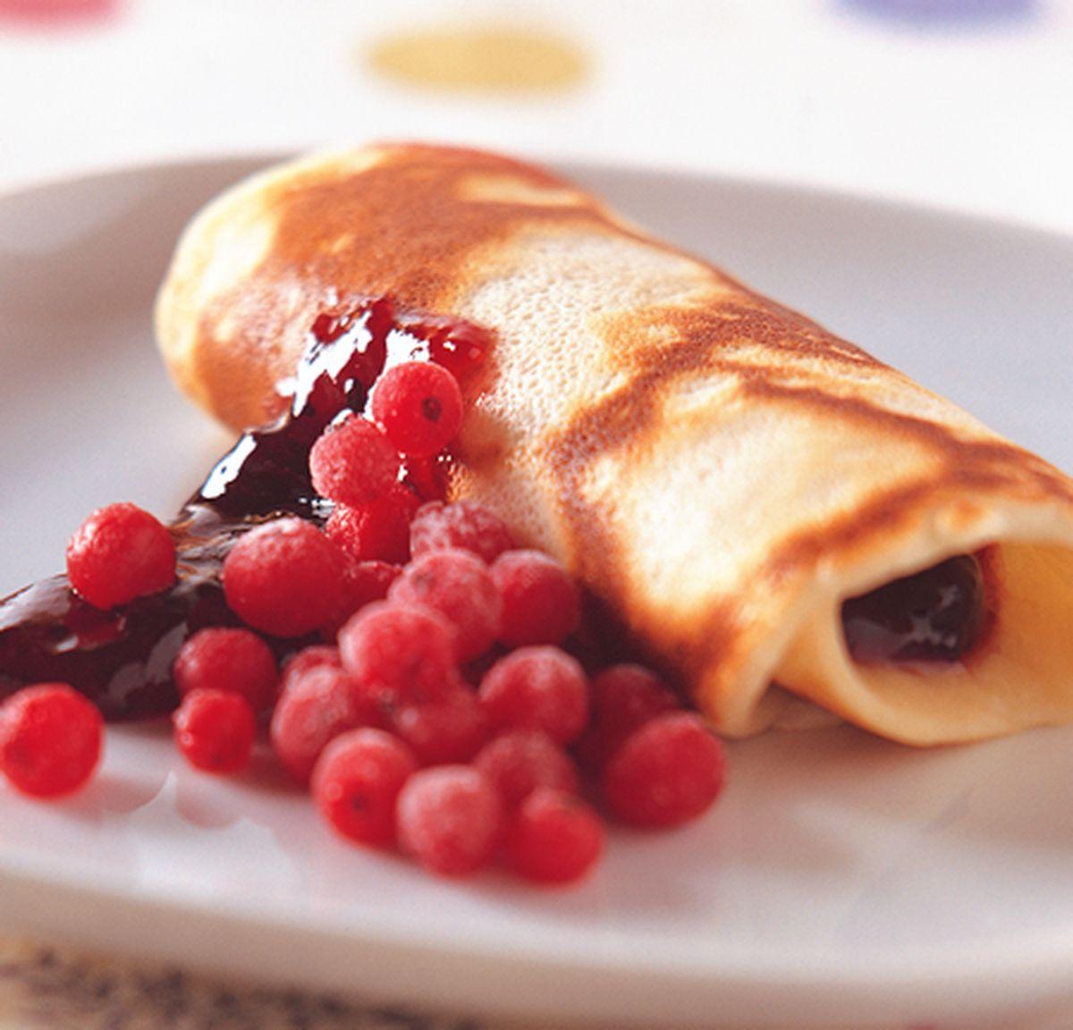 食譜:果醬煎餅燒
