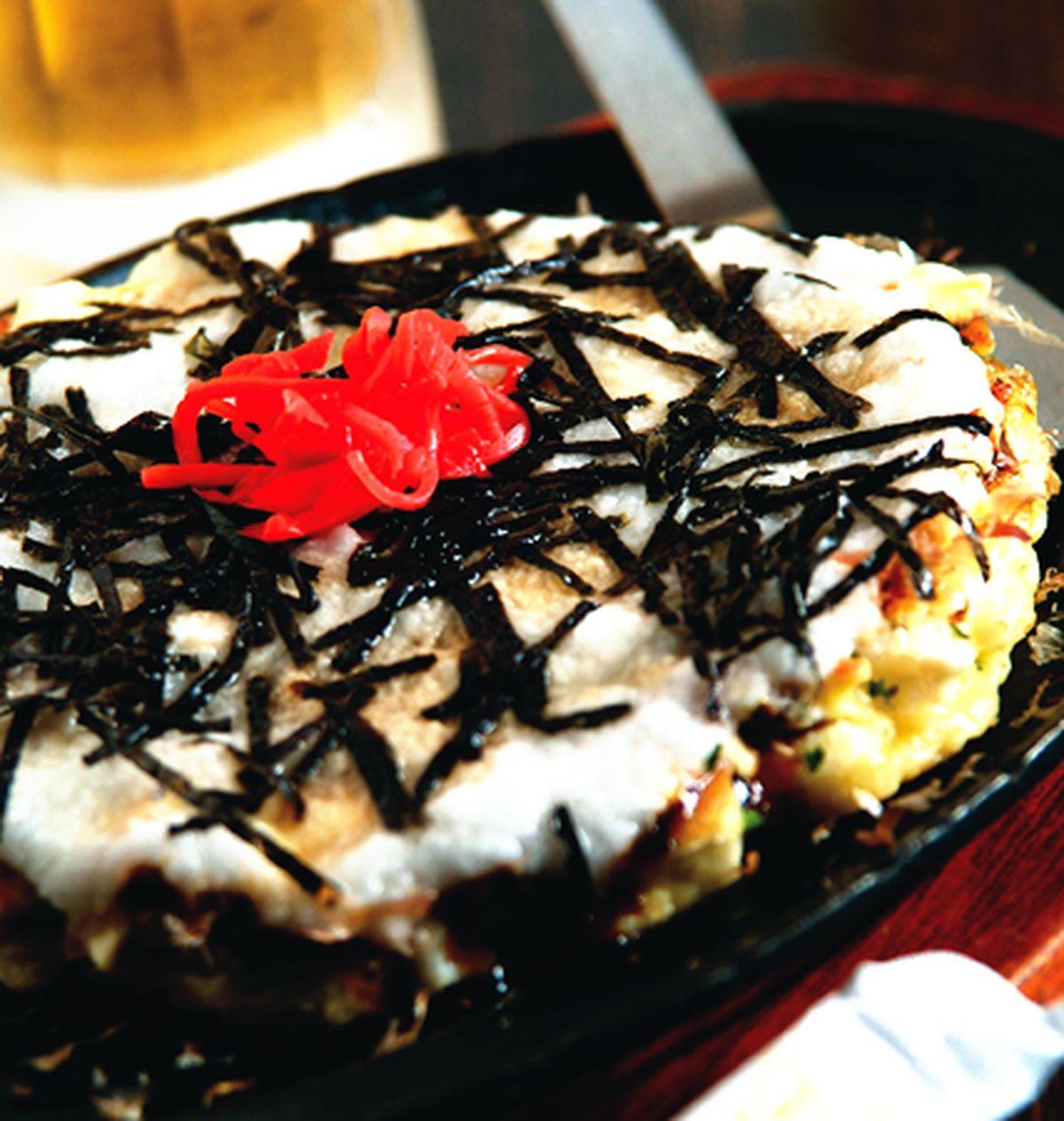 食譜:山藥大阪燒
