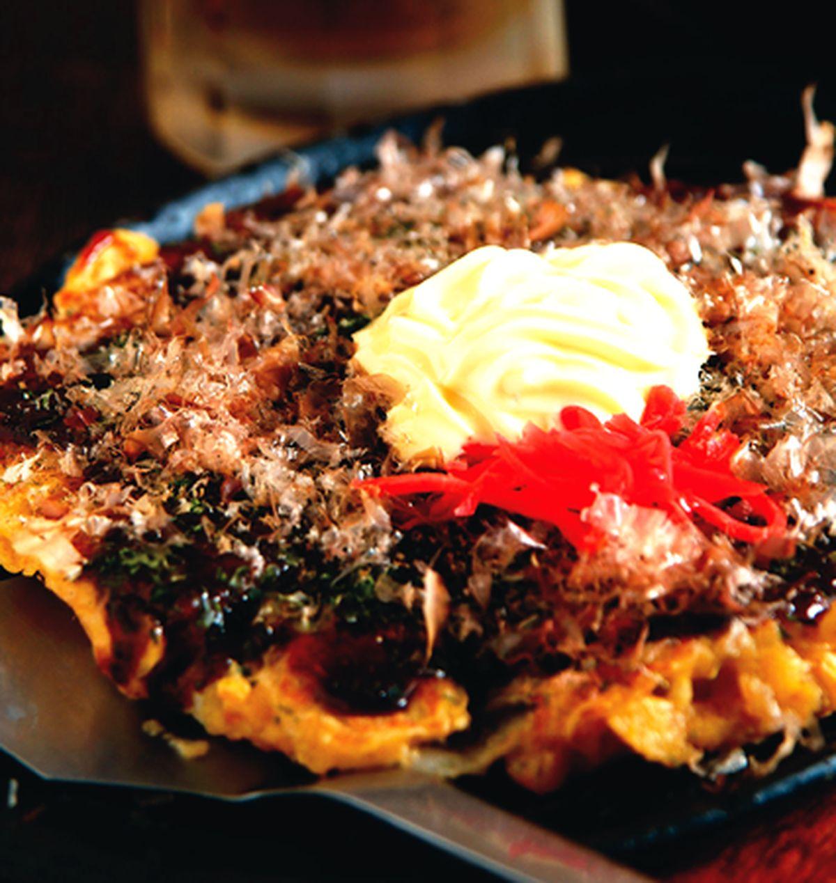 食譜:泡菜大阪燒