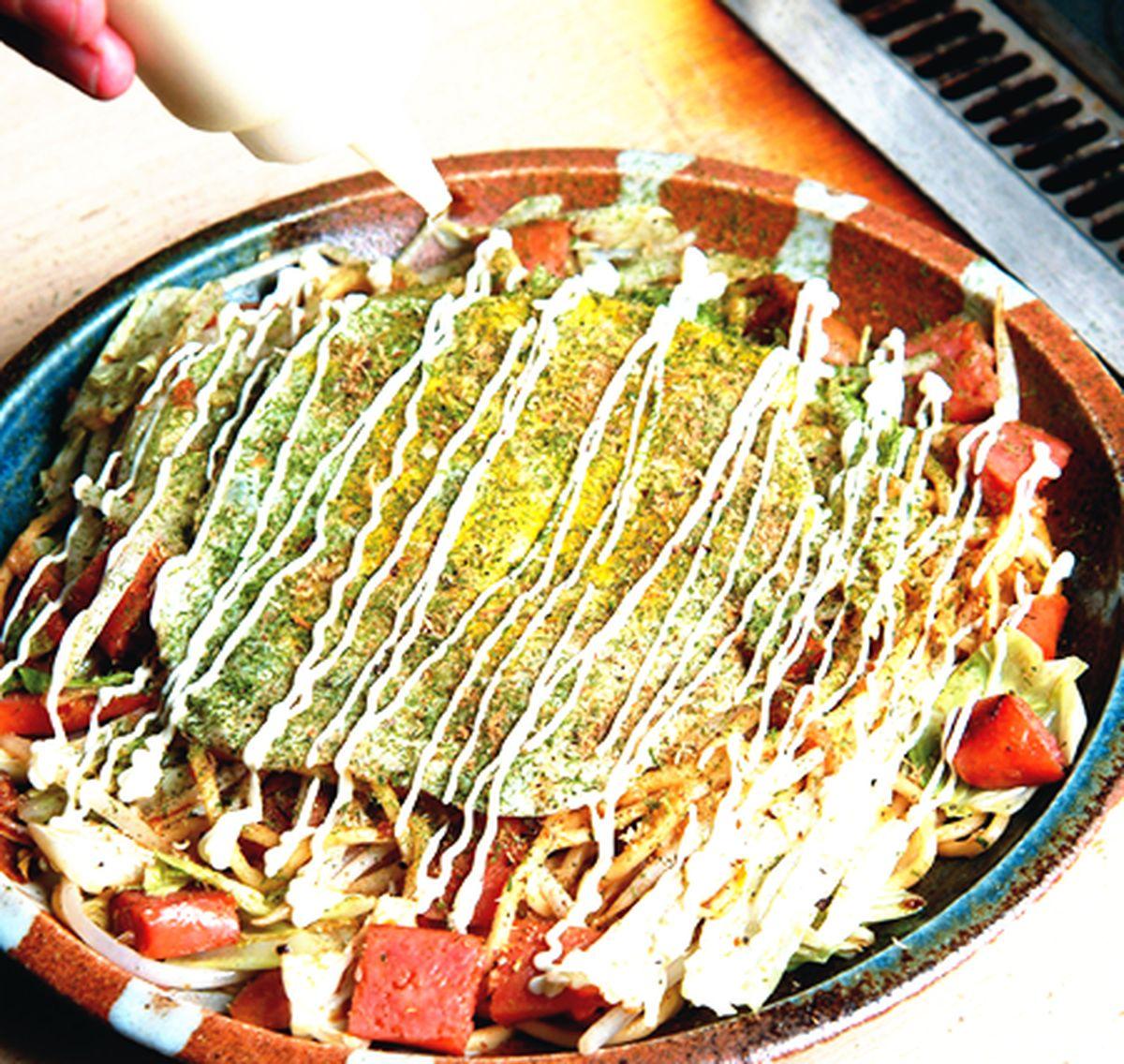 食譜:香腸炒麵燒