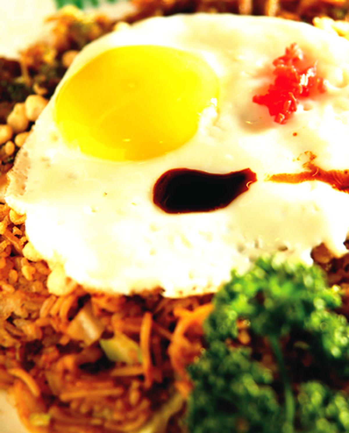 食譜:炒麵飯