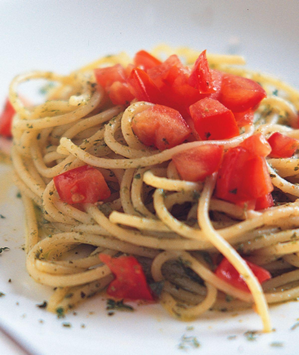 食譜:青醬義大利麵