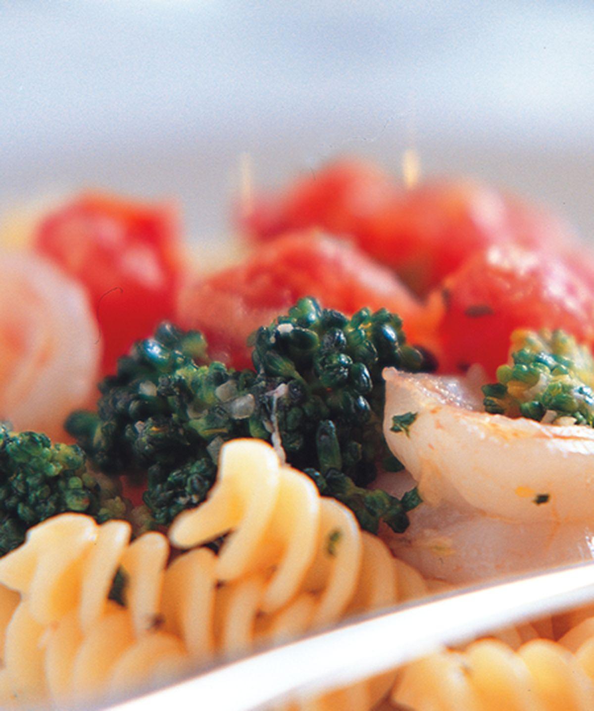 食譜:椰蝦螺旋麵