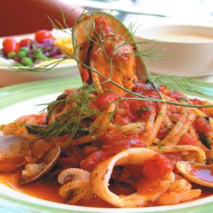 海鮮蕃茄細扁麵