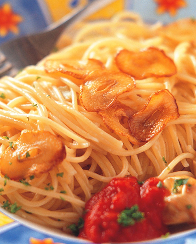食譜:香蒜橄欖油麵