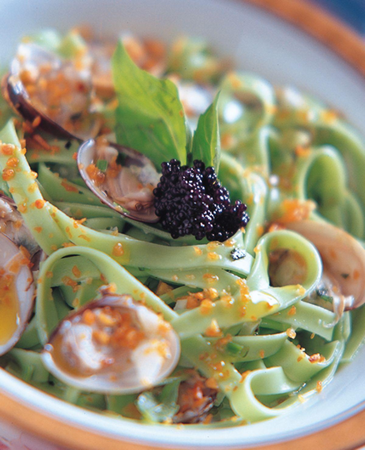 食譜:義式香蒜蛤蜊麵