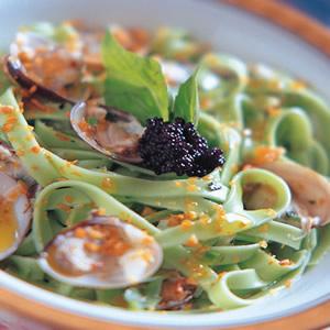義式香蒜蛤蜊麵