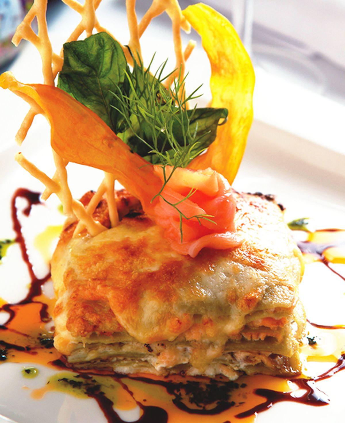 食譜:鮭魚千層麵