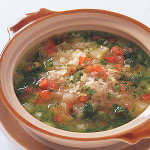 義式蔬菜米香清湯