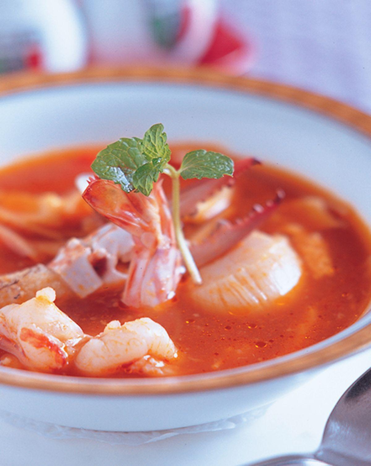 食譜:西西里海龍王湯